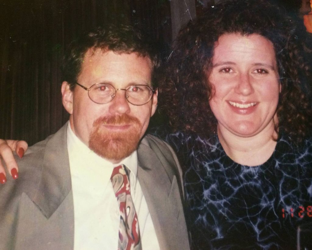 Tony George and sister Cathleen