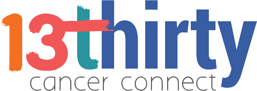 13thirty Cancer Connect logo