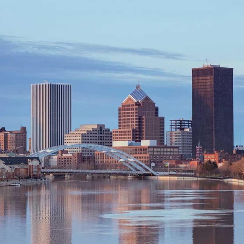Rochester skyline